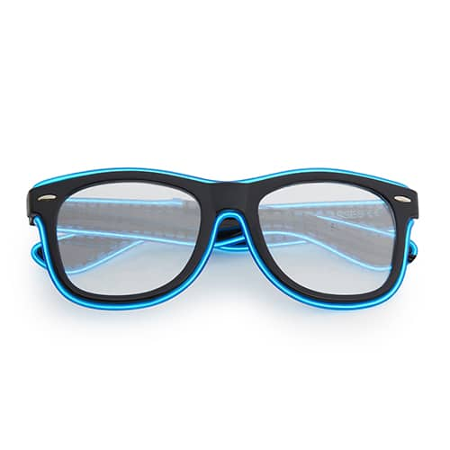 Lichtgevende spacebrillen