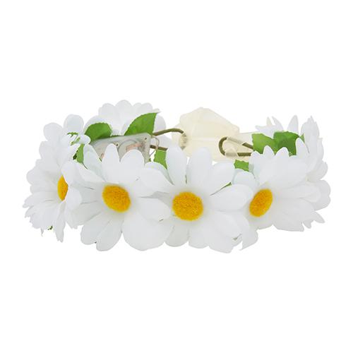 LED haarband bloemen