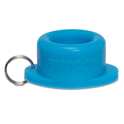 Partydop blauw