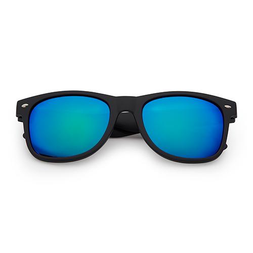 Festival-zonnebril-wayfarer-groen-blauw