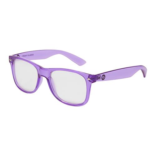Spacebril paars zij