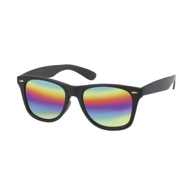 Wayfarer zonnebril regenboog